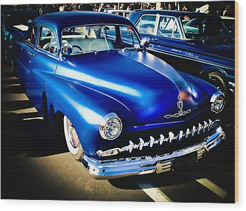 52 Ford Mercury Wood Print by Phil 'motography' Clark
