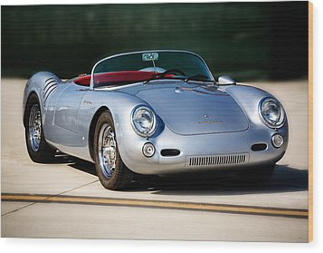 550 Spyder Wood Print by Peter Tellone