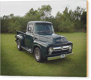 Wood Print featuring the photograph 56 F100 by Keith Hawley