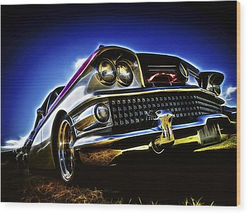 58 Buick Special Wood Print by motography aka Phil Clark