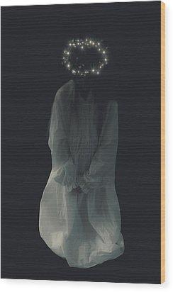 Angel Wood Print by Joana Kruse