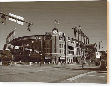 Coors Field - Colorado Rockies Wood Print
