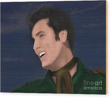 Elvis Presley    Loving You Wood Print