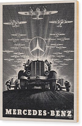Mercedes - Benz Wood Print