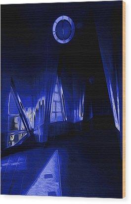 6 O'clock  Wood Print by Jack Zulli