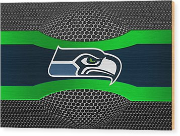 Seattle Seahawks Wood Print