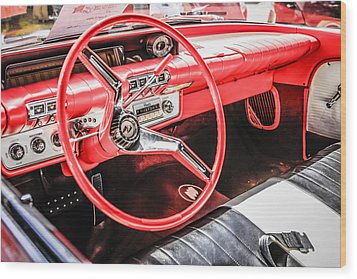 60 Buick Le Sabre Wood Print by Chris Smith