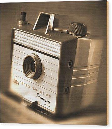 620 Camera Wood Print by Mike McGlothlen