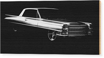 63 Coupe De Ville Wood Print by motography aka Phil Clark
