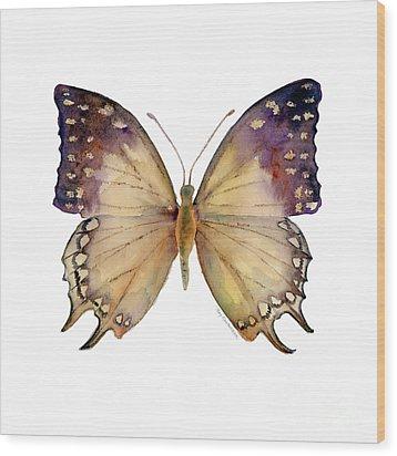 63 Great Nawab Butterfly Wood Print by Amy Kirkpatrick