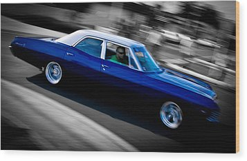 67 Chev Impala Wood Print by Phil 'motography' Clark