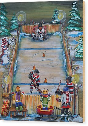 67's Captain In Training Wood Print by Jill Alexander