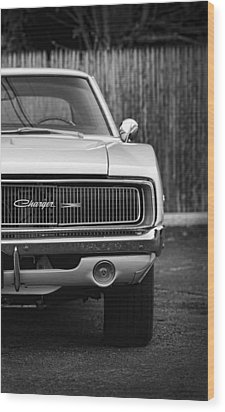 '68 Charger Wood Print by Gordon Dean II