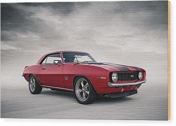 69 Camaro Wood Print by Douglas Pittman