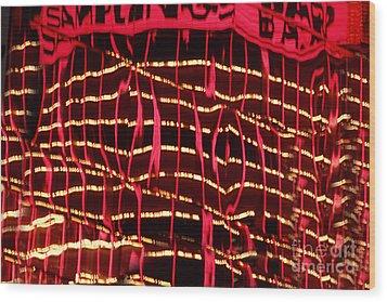 Abstract Wood Print by Tony Cordoza