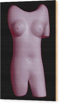EVA Wood Print by Kenneth Clarke