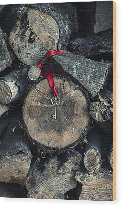 key Wood Print by Joana Kruse