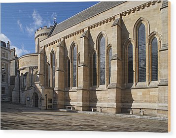 Knights Templar Temple In London Wood Print
