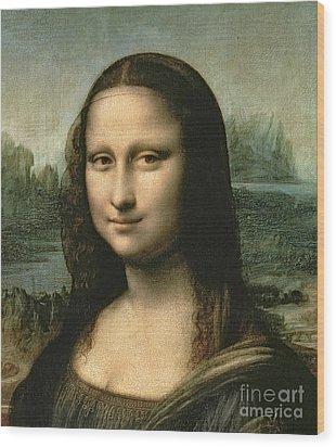 Mona Lisa Wood Print by Leonardo Da Vinci