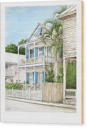 704 Caroline Street Wood Print