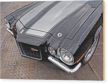 71 Camaro Z28 Wood Print
