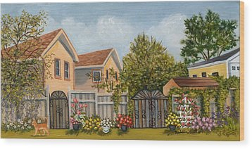 79th Street And 156th Avenue Howard Beach Wood Print