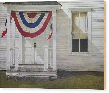 7th Of July Wood Print by Stephen Hodecker