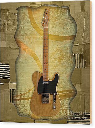 Fender Telecaster Collection Wood Print