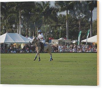 International Polo Club Wood Print