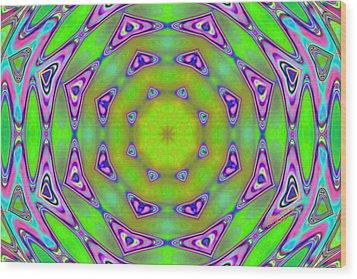 Pattern 21 Wood Print