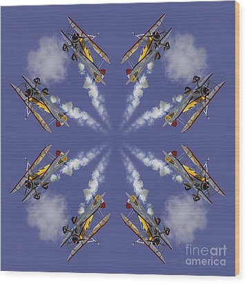 8 Planes Wood Print by Jerry Fornarotto