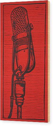 Rca 77 Wood Print by William Cauthern