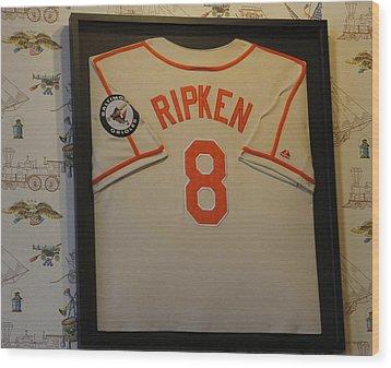 8 Ripken Wood Print by David Simons