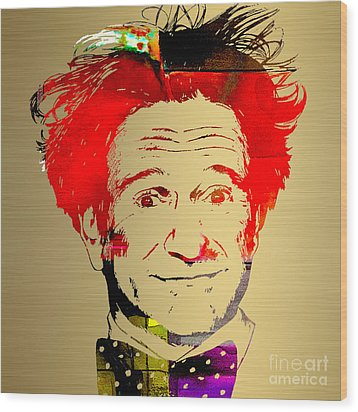 Robin Williams Art Wood Print