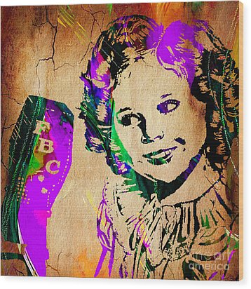Shirley Temple Collection Wood Print