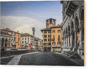Udine Wood Print by Chris Smith
