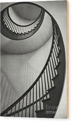 Untitled Wood Print by Greg Ahrens