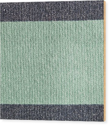 Wool Background Wood Print by Tom Gowanlock