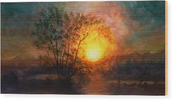 Earth Light Series Wood Print