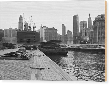 World Trade Center Wood Print