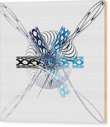 Abstract Wood Print by Bogdan Floridana Oana
