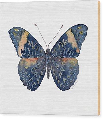 89 Red Cracker Butterfly Wood Print by Amy Kirkpatrick