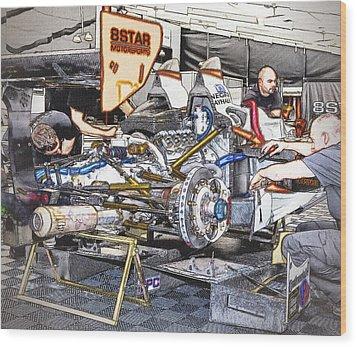 8star Motorsports Wood Print