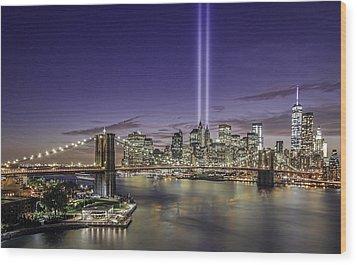 9-11-14 Wood Print