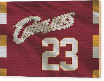Cleveland Cavaliers Uniform Wood Print
