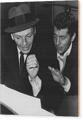 Dean Martin Wood Print by Retro Images Archive