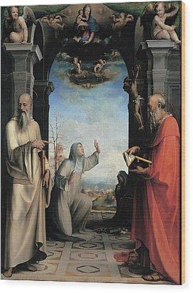 Domenico Di Giacomo Di Pace Known Wood Print by Everett