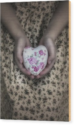 Heart Wood Print by Joana Kruse