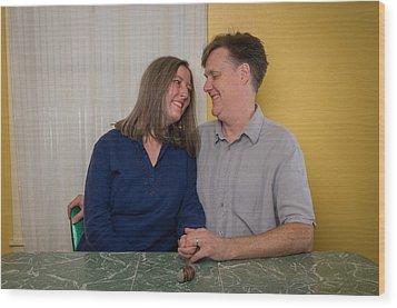 Kathy And Allan Wood Print