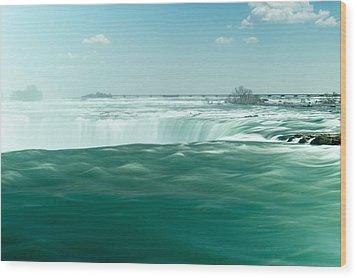 Niagara Falls Wood Print by Marek Poplawski